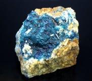 Hauyne of hauynite specimen stock foto's