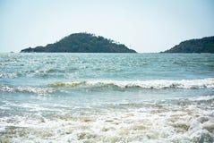 hav Arabian Sea Royaltyfria Foton
