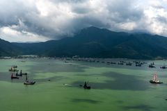 Hav av Hong Kong Arkivbilder