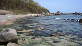 Hav av Japan på våren lager videofilmer