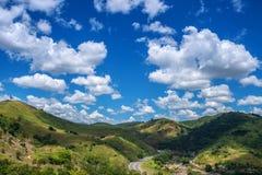 Hav av kullar Royaltyfria Bilder
