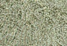 Hav av pengar Arkivfoton