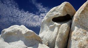 Hav av Sardinia, sommarsemester i Italien arkivbilder