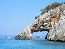Hav av Sardinia, sommarsemester i Italien Arkivfoton