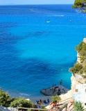 Hav av Sardinia, sommarsemester i Italien Royaltyfri Fotografi