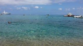 Hav av Sardinia, sommarsemester i Italien Royaltyfria Bilder