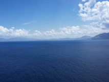 Hav av Sicily Arkivbild