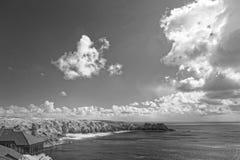 Hav av sydliga England Arkivbild