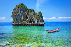 Hav av sydliga Thailand Arkivbilder