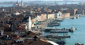 HAV av Venedig från den Sanka Mark Bell Tower Fotografering för Bildbyråer