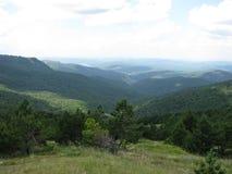 Hav berg fotografering för bildbyråer