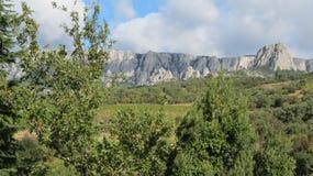 Hav berg Royaltyfria Foton
