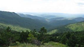 Hav berg Royaltyfri Fotografi