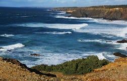 Hav hav, CoastPortugal Fotografering för Bildbyråer