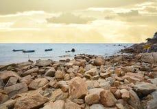 hav 3d framför platsskyen Royaltyfria Foton