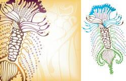 hav för 2 microorganism royaltyfri illustrationer