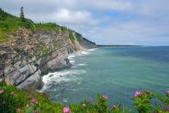 hav för klippaforillonnationalpark Royaltyfria Bilder