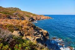 hav för natur för klippadesignelement Royaltyfria Foton