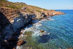 hav för natur för klippadesignelement Arkivbild