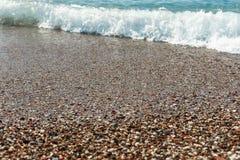 hav för strandvandringsledpir till waves för textur för hav för illustrationsdesign naturliga hav Fotografering för Bildbyråer