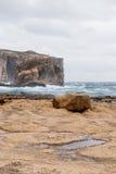 Hav i den Gozo ön, Malta Royaltyfri Foto