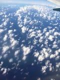Hav i himlen royaltyfri fotografi