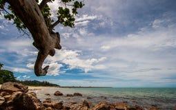Hav i Thailand Arkivbild