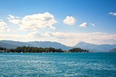 Hav & landskap arkivfoto