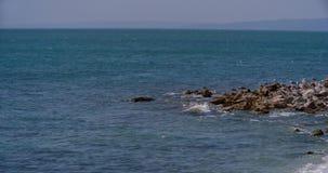 Hav och ö i Grekland arkivfilmer