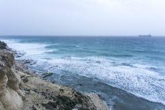 Hav och bakgrund royaltyfri foto