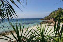 Hav och djungeln på den Tarutao medborgaren Marine Park som är sydlig av t Arkivfoto