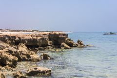 Hav och rocks Royaltyfria Foton