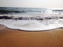 Hav och sand Royaltyfria Foton