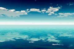 Hav och Sky Royaltyfri Bild