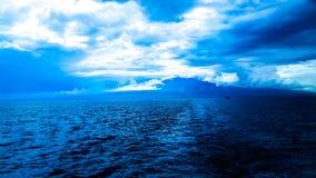 Hav och Sky Royaltyfria Foton
