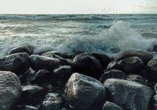 Hav och sten Royaltyfri Foto