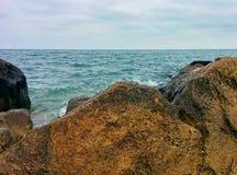 Hav och stenar Royaltyfri Foto