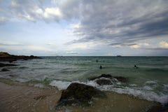 Hav och strand i KohSamet Rayong Thailand Royaltyfria Foton