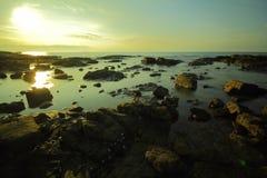 Hav och strand i KohSamet Rayong Thailand Arkivbild