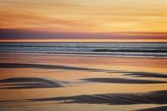 Hav- och strandbakgrund Arkivbilder