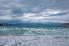 hav och vind Arkivbild