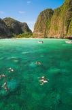 Hav på Krabi Royaltyfri Fotografi