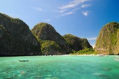 Hav på Krabi Royaltyfria Bilder