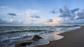 Hav på stranden fotografering för bildbyråer