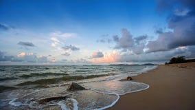 Hav på stranden arkivbild