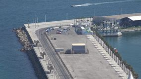 Hav Pier Or Dock arkivfilmer
