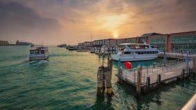 Hav Pier Port Yachts Harbour arkivfoton