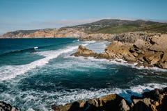 hav portugal Fotografering för Bildbyråer