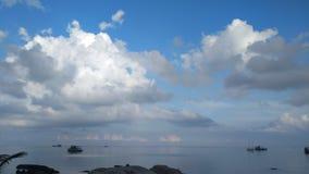 Hav som är härligt i Thailand Arkivbild