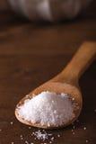 Hav som är salt i en bambusked Royaltyfri Bild